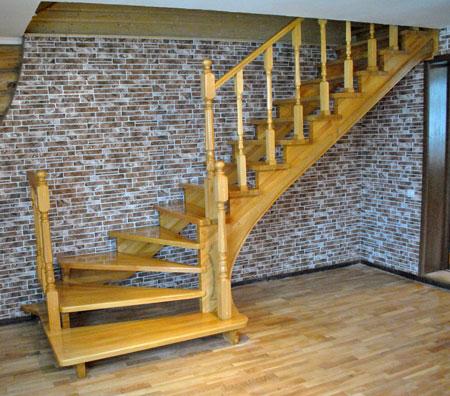 Столб для лестницы своими руками 52